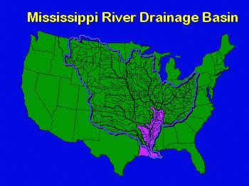 New Orleans District Missions Mississippi River Flood Control - Us drainage basins map