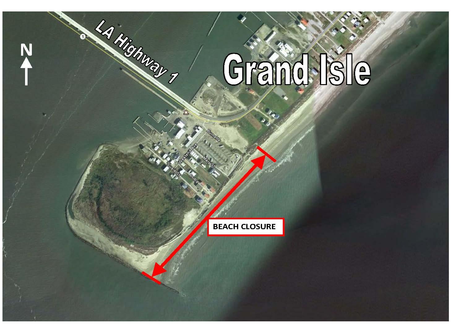 Repairs begin on Grand Isle surge risk reduction dune  New