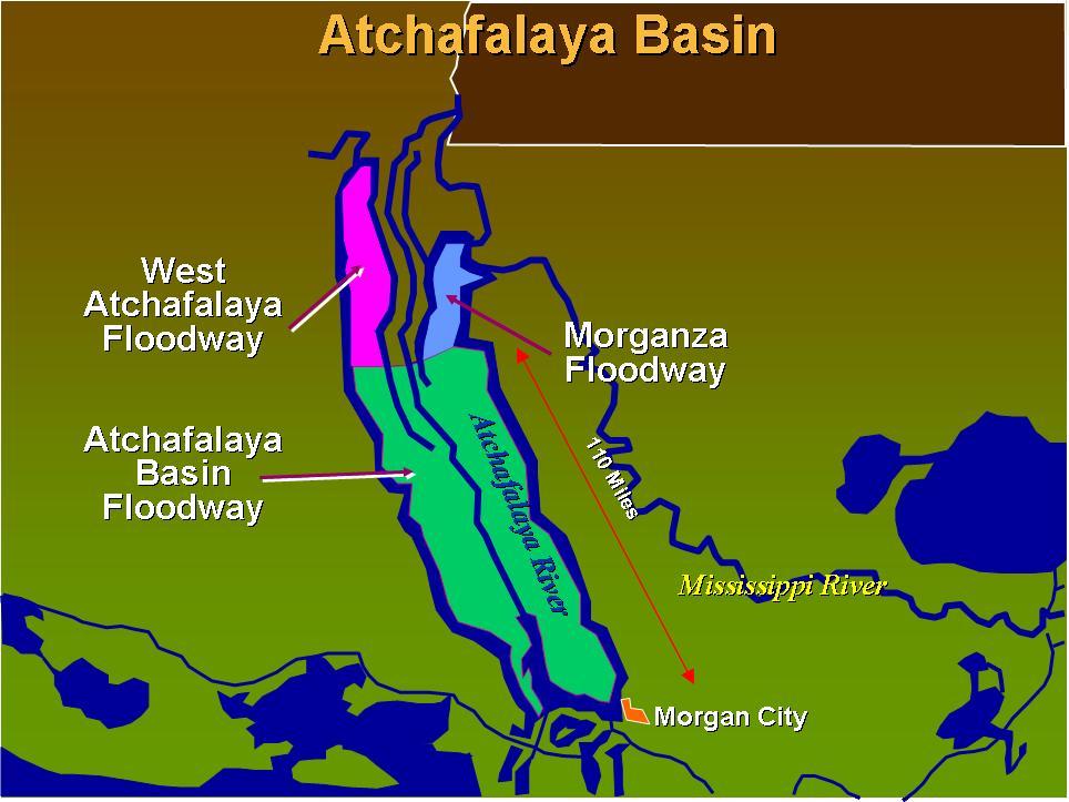 lower atchafalaya basin floodway system