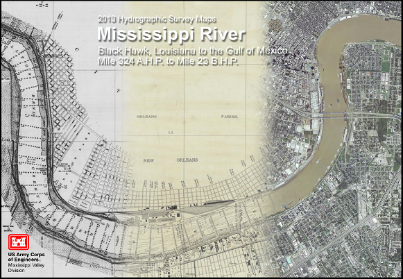 2013 Mississippi River Hydrographic Survey Book